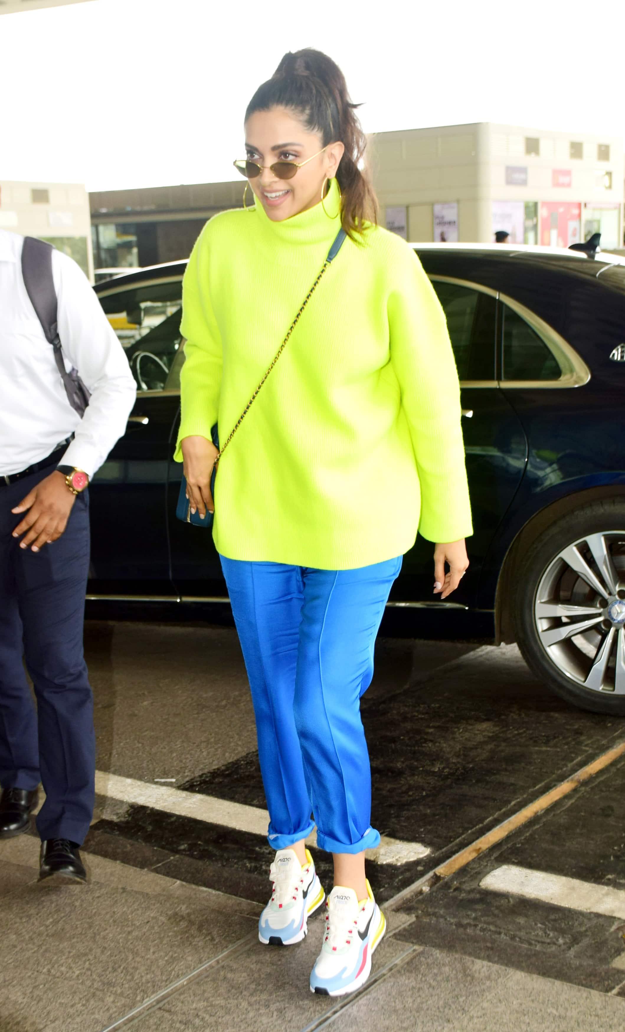 Deepika Padukone's airport look grabs attention
