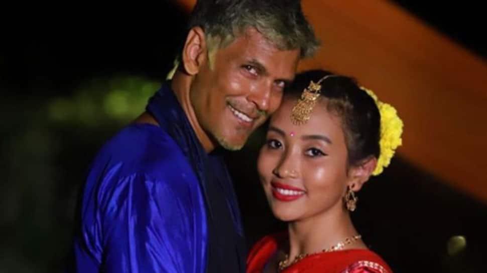 Milind Soman's wife calls him 'Papaji'