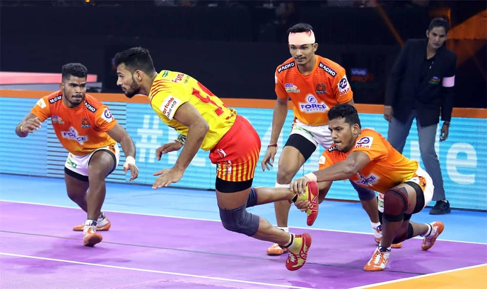 PKL 7: Composed Puneri Paltan beat Gujarat Fortunegiants 43-33