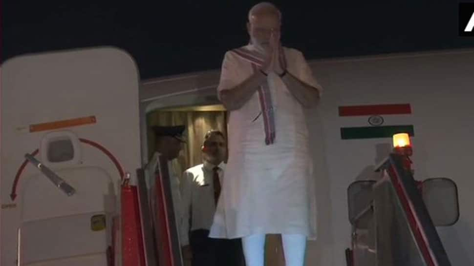 PM Narendra Modi arrives in Ahmedabad: Here's schedule for Tuesday, his birthday