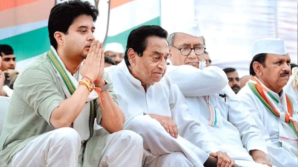 Kamal Nath and Jyotiraditya Scindia to meet on Tuesday amid infighting within MP Congress