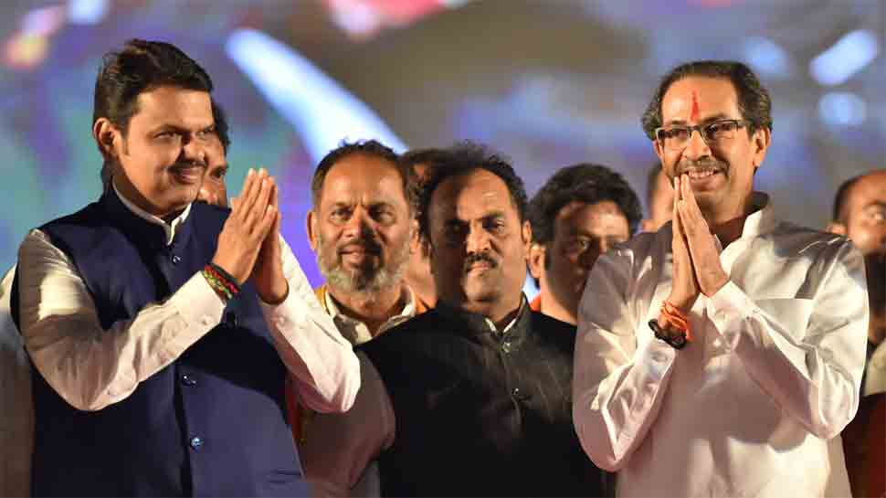 Shiv Sena moots '50-50 formula' for pre-poll alliance with BJP for Maharashtra Assembly election