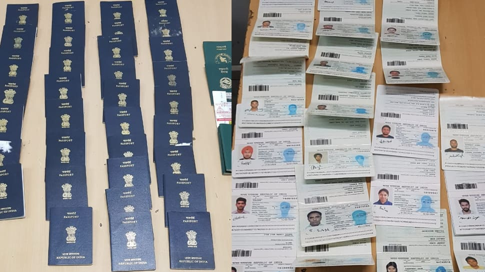 International gang forging passports busted in Delhi, eight arrested