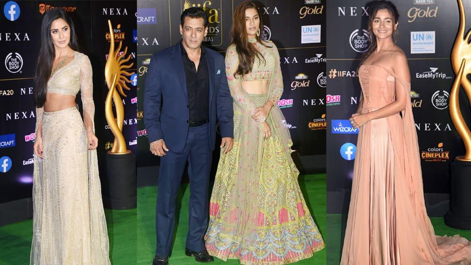 IIFA 2019: Salman Khan, Katrina Kaif, Alia Bhatt and others dazzle at green carpet—Pics