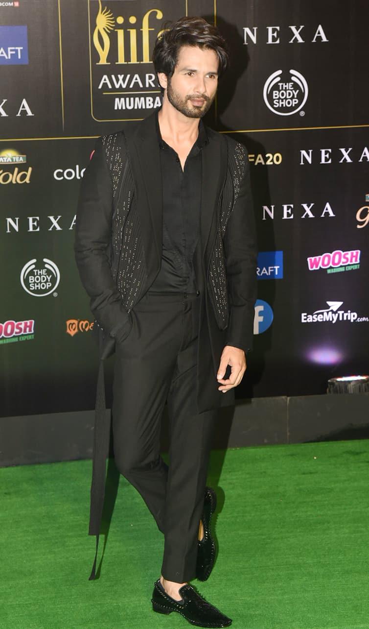 Shahid Kapoor attends IIFA 2019