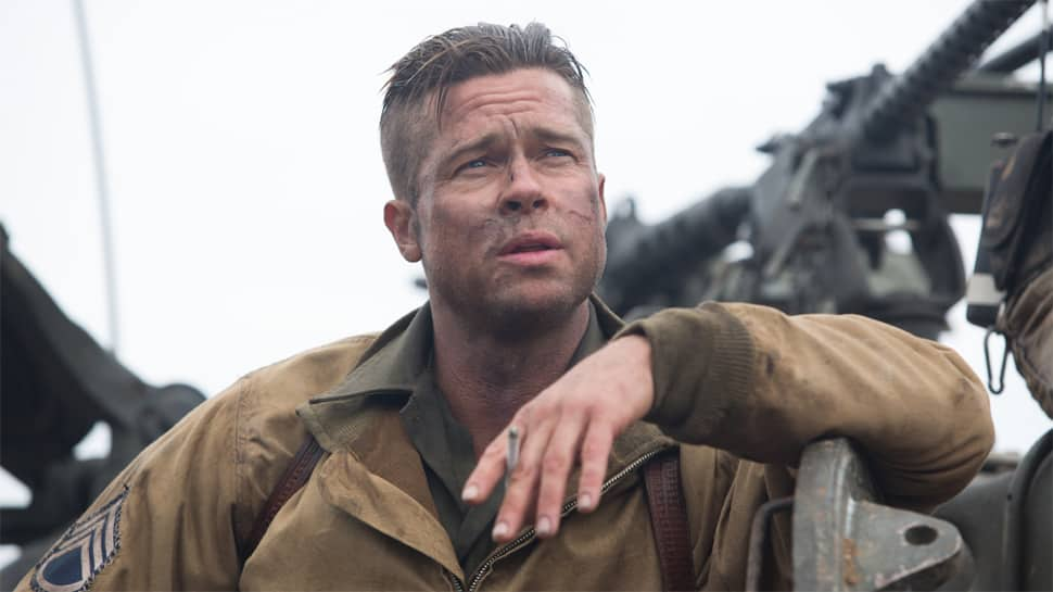 Brad Pitt reacts to his photos breaking the internet