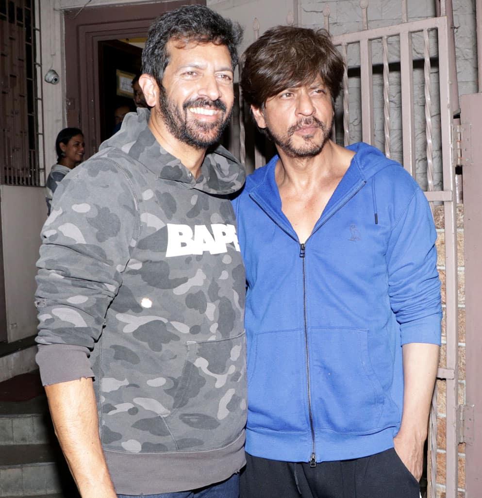 SRK with Kabir
