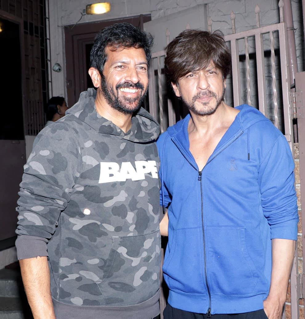 Kabir Khan and SRK