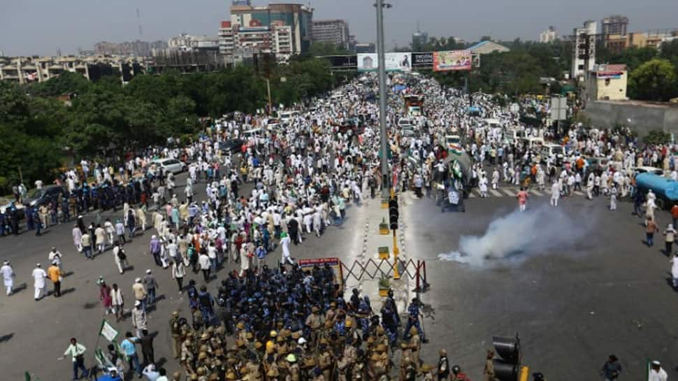 Over 15,000 protesting farmers set to enter Delhi; heavy security deployed