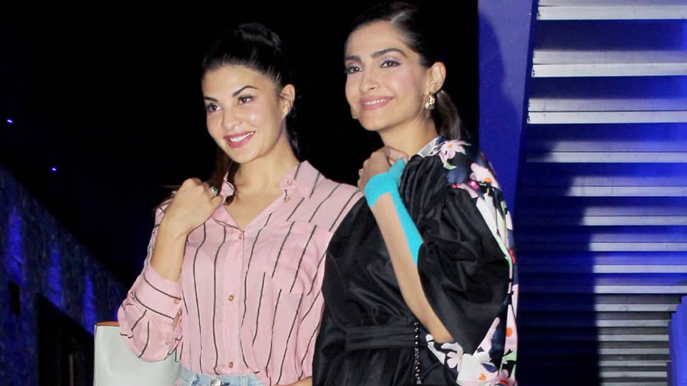 Sonam Kapoor spends quality time with BFF Jacqueline Fernandez—Pics