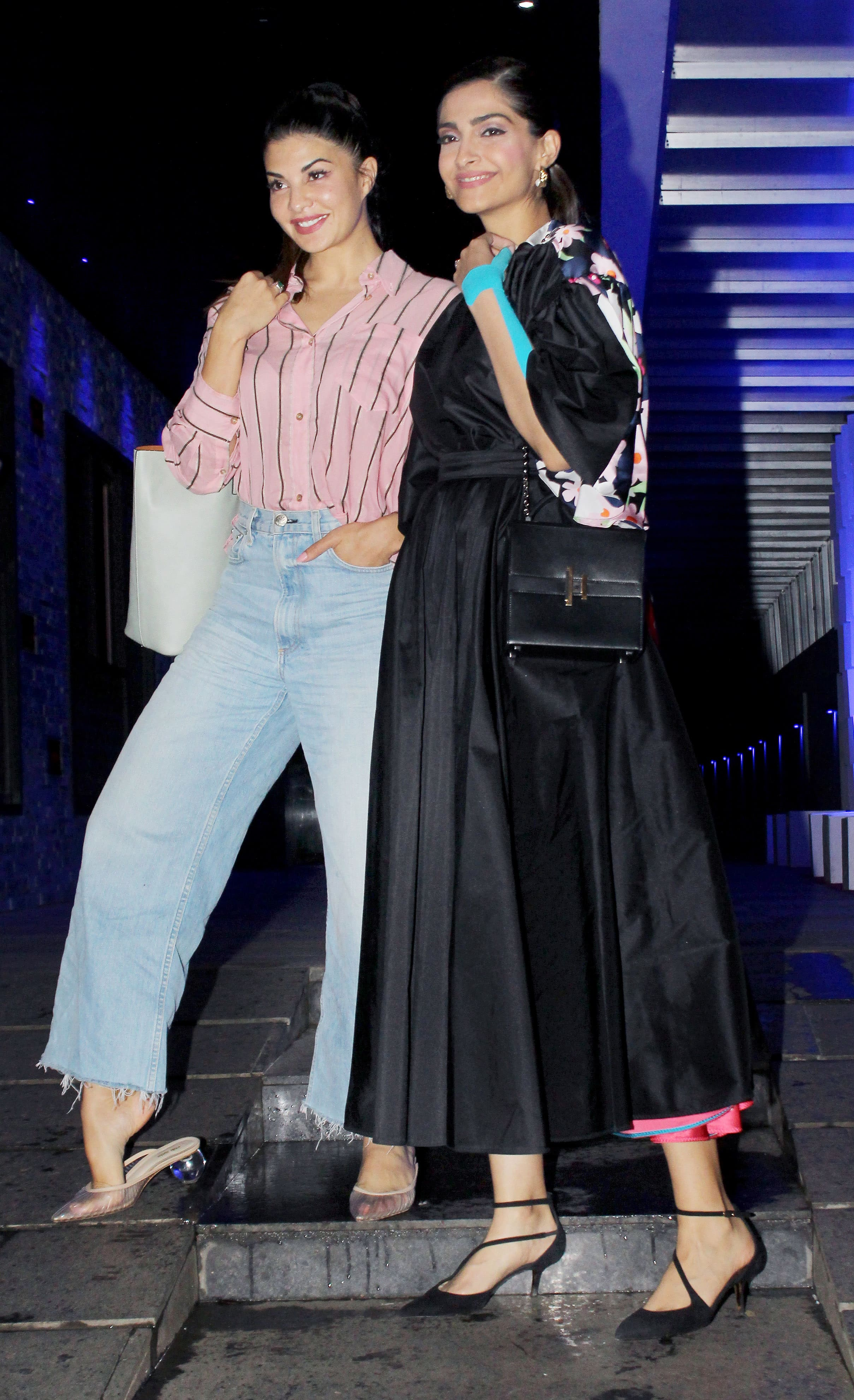 Sonam and Jacqueline are all smiles