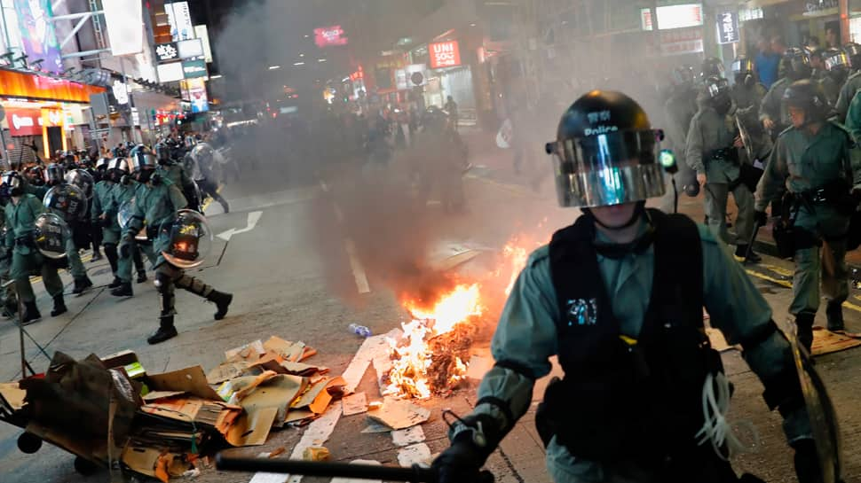 Hong Kong cleans up after latest violence ahead of October 1 anniversary