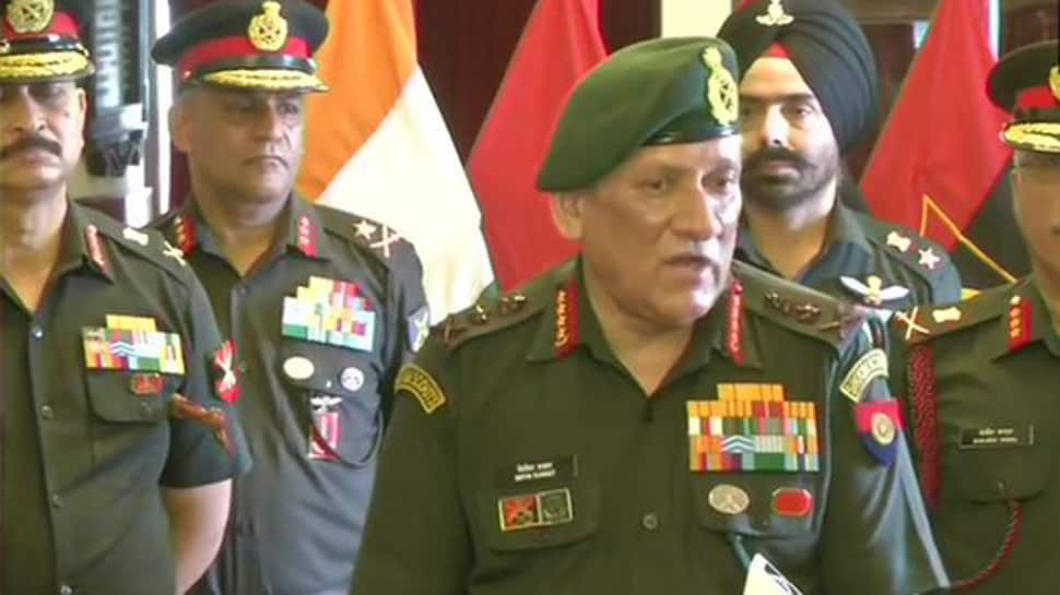 Communication breakdown only for terrorists and Pakistan handlers, not for Kashmiri people: Army Chief General Bipin Rawat