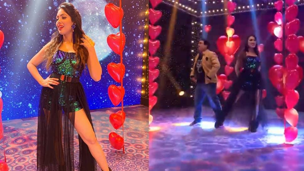 Taarak Mehta Ka Ooltah Chashmah: Babita Ji's BTS dance video with Jetha Lal is unmissable!