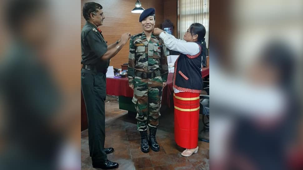Ponung Doming becomes Arunachal Pradesh's first woman Lieutenant Colonel in Indian Army