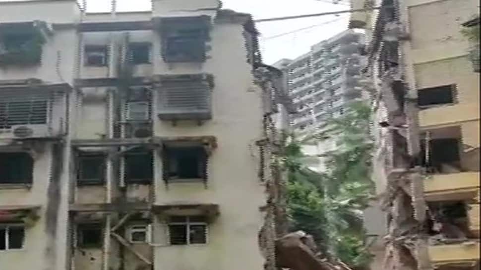 Girl killed after portion of building collapses in Mumbai's Khar