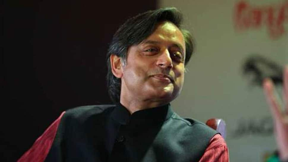 Shashi Tharoor trolled for wrongly spelling Indira Gandhi