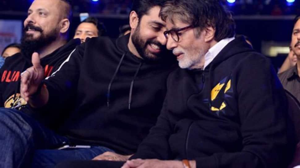 Abhishek Bachchan 'overjoyed' with father Amitabh Bachchan's Dada Saheb Phalke glory