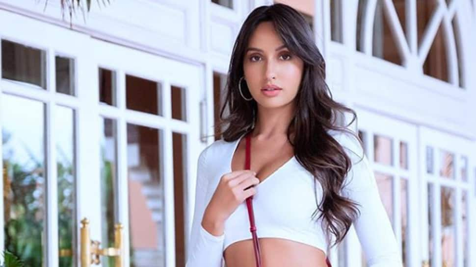 Nora Fatehi gives angelic vibes in a white lehenga—Pics inside