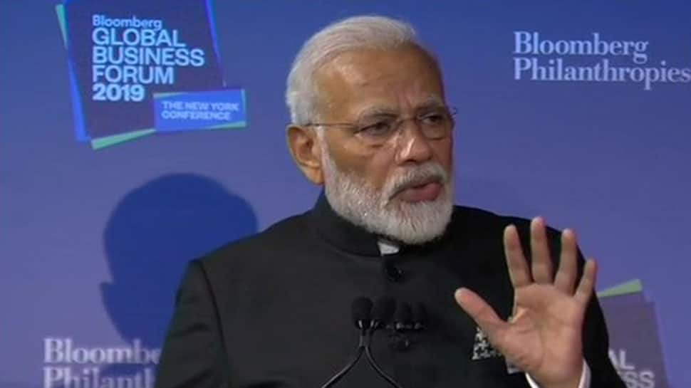India is going to invest USD 1.3 trillion in infrastructure: PM Modi at Bloomberg Business Forum