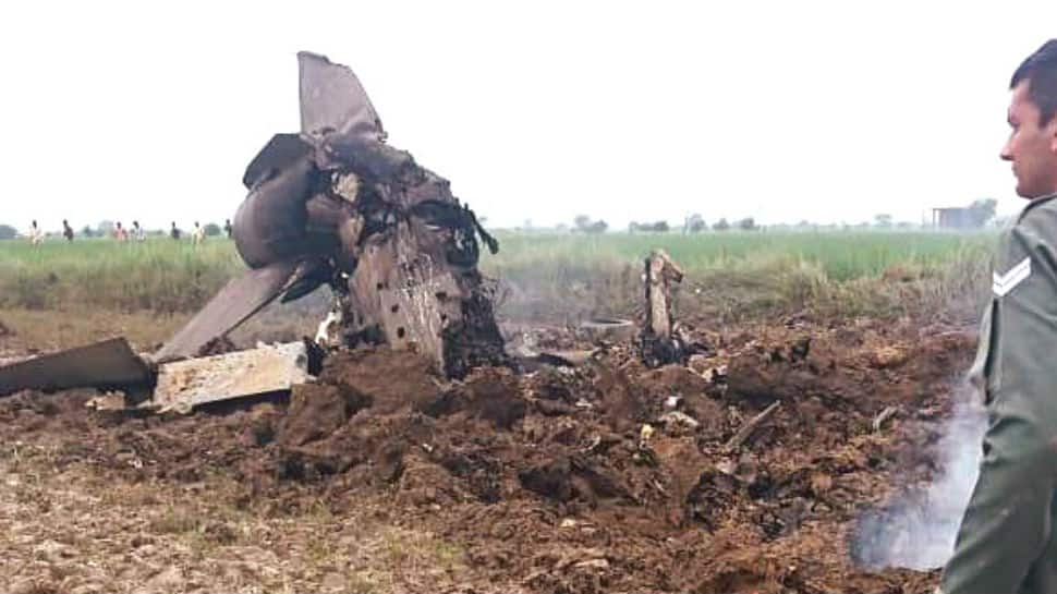 Balakot airstrikes planner ejects safely in MiG-21 crash in Gwalior
