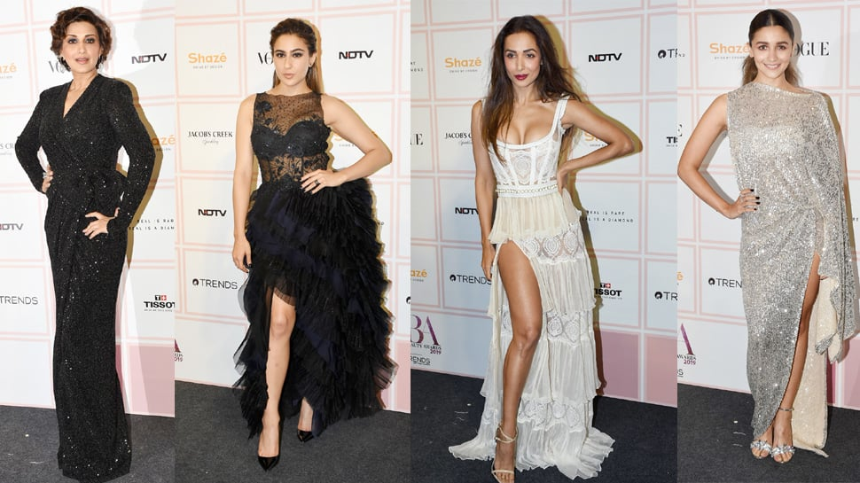 Vogue Beauty Awards 2019: Sara Ali Khan, Malaika and others sizzle at the red carpet