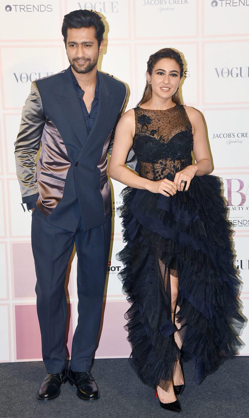 Sara Ali Khan turned heads at Vogue Beauty Awards 2019