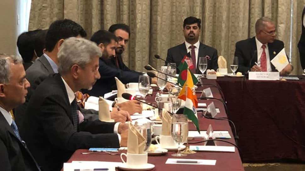 Pakistan Foreign Minister boycotts EAM Jaishankar's statement at SAARC meeting, India calls it drama