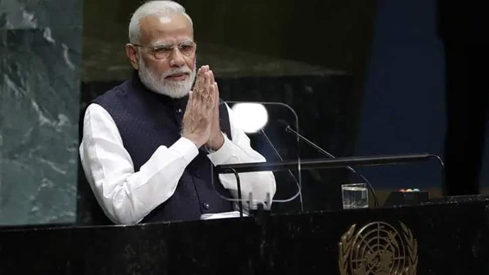 PM Narendra Modi quotes 3000-year old Tamil poet while addressing UNGA session