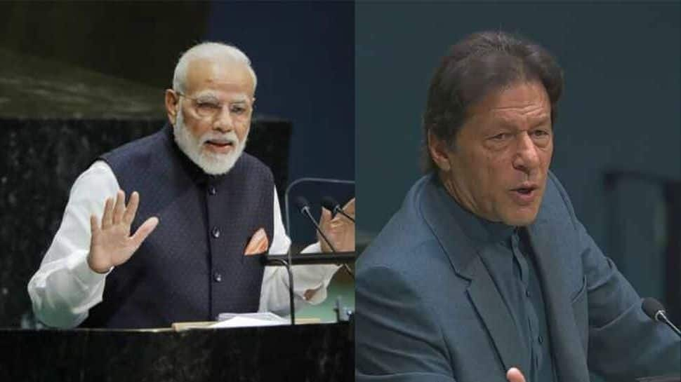 PM Modi wraps up speech in 17 minutes, Imran Khan rants against India for over 30 minutes at UNGA