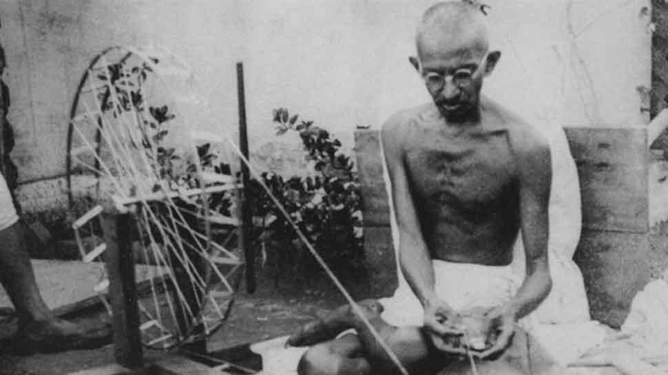 This school in Madhya Pradesh remembers Mahatma Gandhi every day