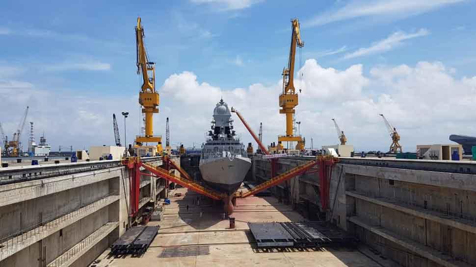 Rajnath Singh inaugurates Navy's biggest aircraft carrier dry dock in Mumbai