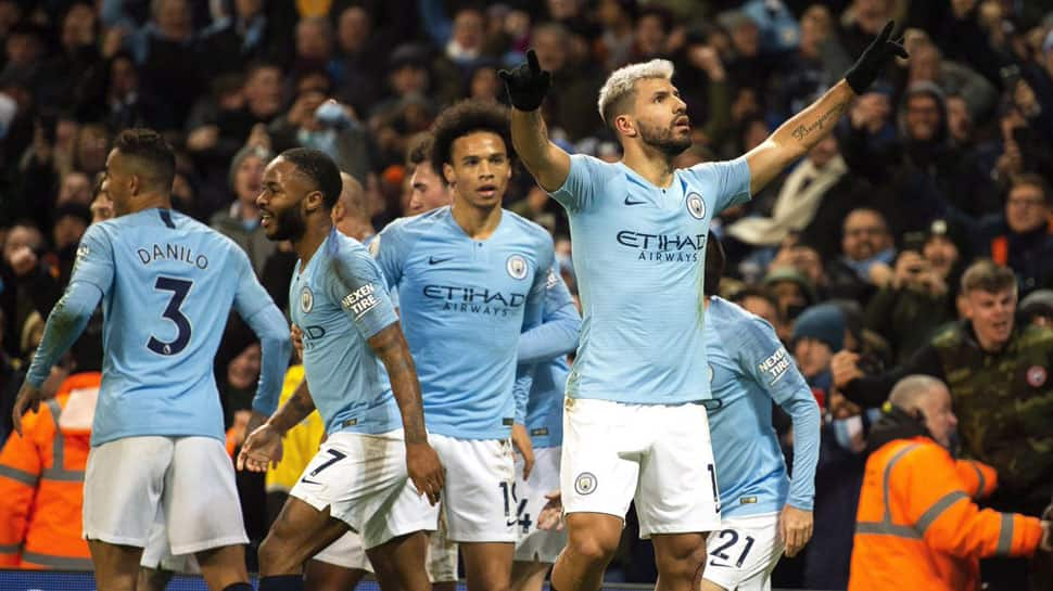 Premier League: Gabriel Jesus, Raheem Sterling score as Manchester City overcome Everton