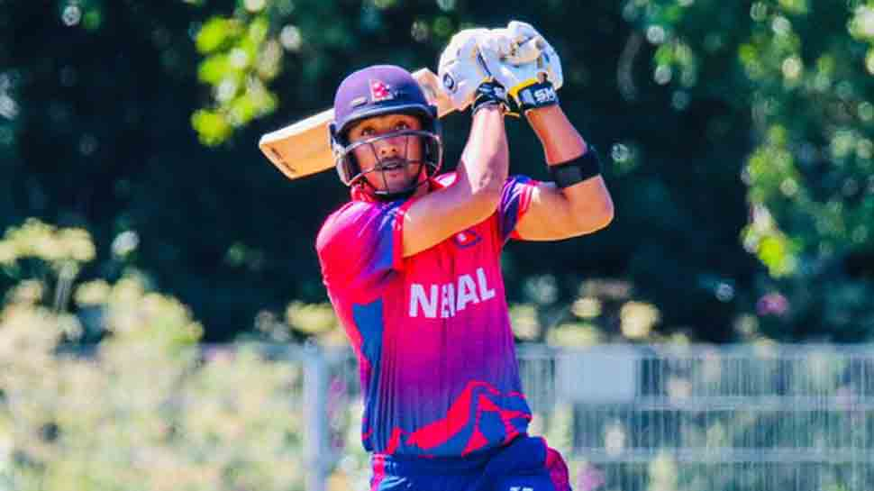 Paras Khadka becomes first-ever Nepal batsman to score T20I century