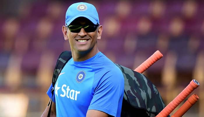 MS Dhoni enjoys game of billiards at JSCA stadium