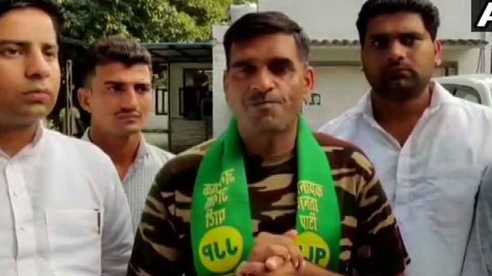 Ex-BSF jawan Tej Bahadur Yadav joins Jannayak Janata Party