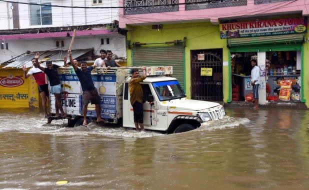 Bihar govt releases emergency helpline numbers as heavy rains disrupts normal life in Patna