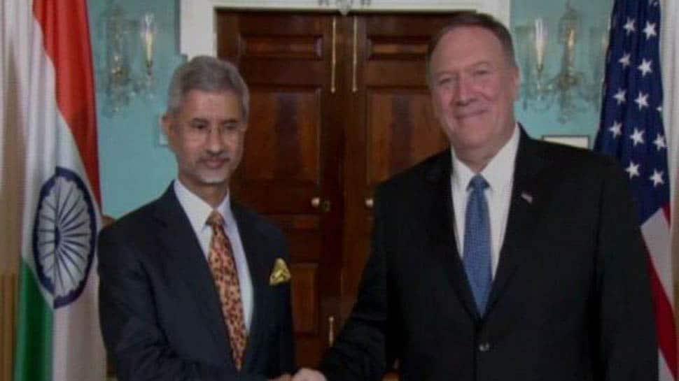 Jaishankar meets Pompeo in Washington, holds talks over terror, Afghanistan