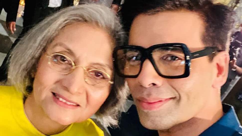Karan Johar's selfie with Ma Anand Sheela draws flak and praise