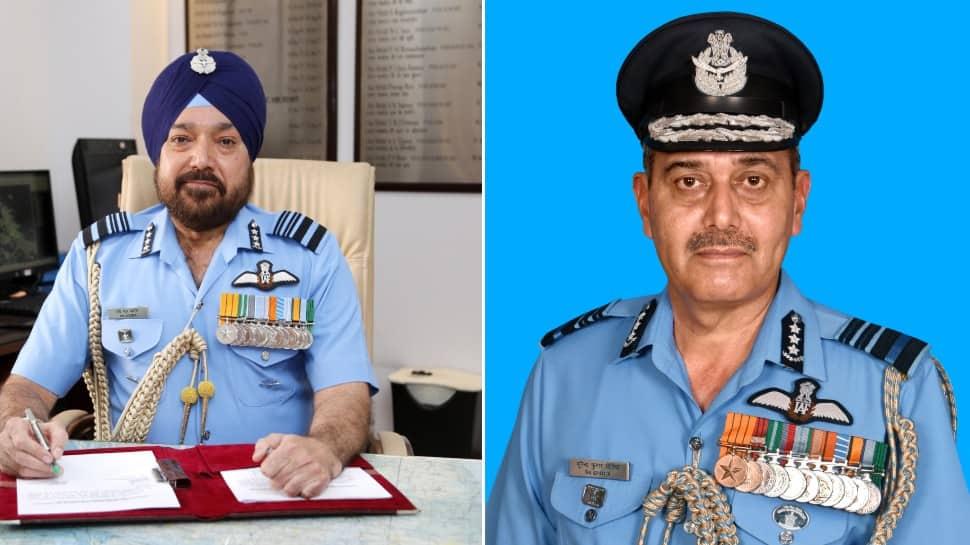 Air Marshal Harjit Singh Arora takes over as IAF Vice Chief, Air Marshal Surendra Kumar Ghotia new South Western Air Commander