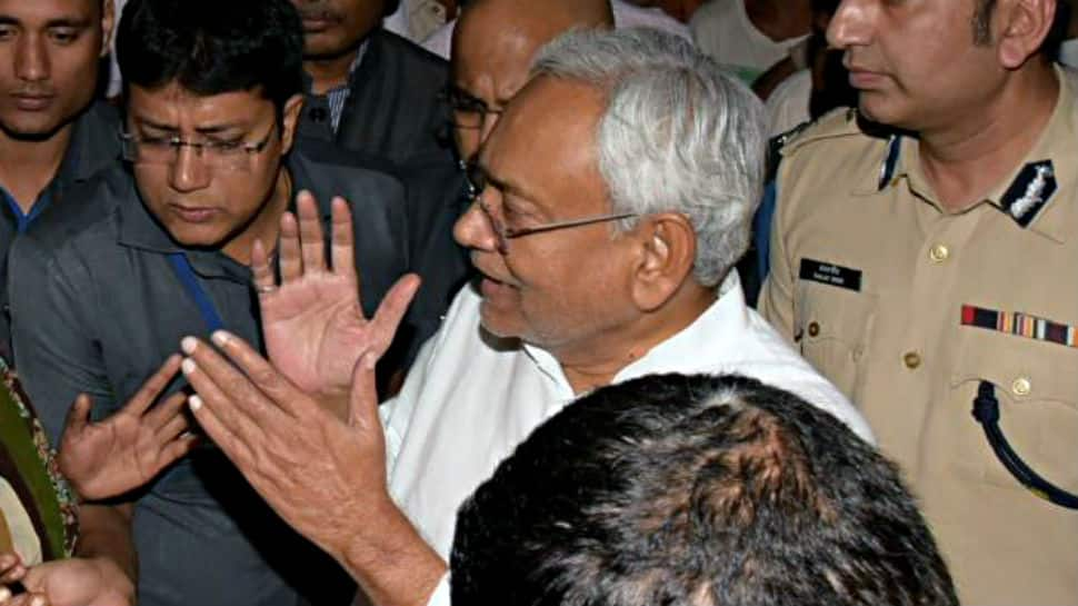 Nitish Kumar loses cool when questioned on Bihar floods, asks 'what happened in Mumbai, America?'
