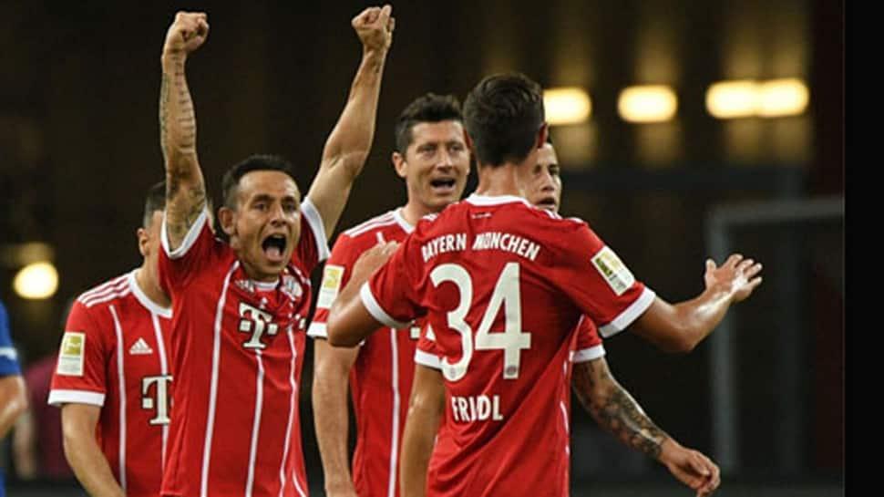 Champions League: Serge Gnabry scores four goals as Bayern Munich trounce Tottenham Hotspur 7-2