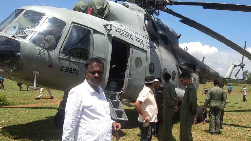 IAF's Mi 17 helicopter makes emergency landing in Karnataka, all safe