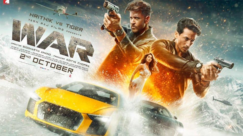 Hrithik Roshan-Tiger Shroff starrer 'War' gets a packed opening