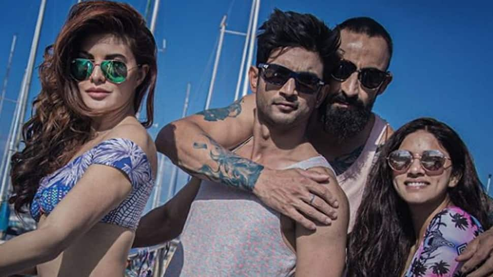 Jacqueline Fernandez-Sushant Singh Rajput's new 'Drive' poster is high on glamour—See inside