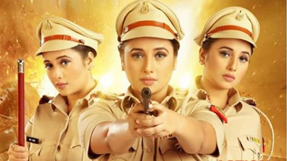 Bhojpuri bombshell Rani Chatterjee dons a cop avatar for 'Lady Singham', shares first look