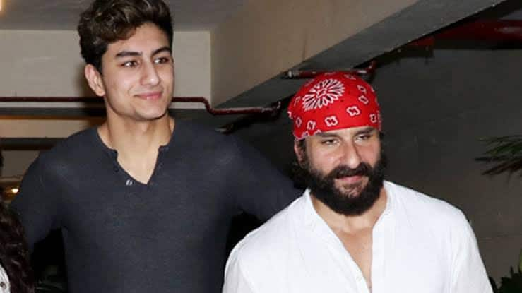 Ibrahim Ali Khan opens up about his equation with father Saif Ali Khan