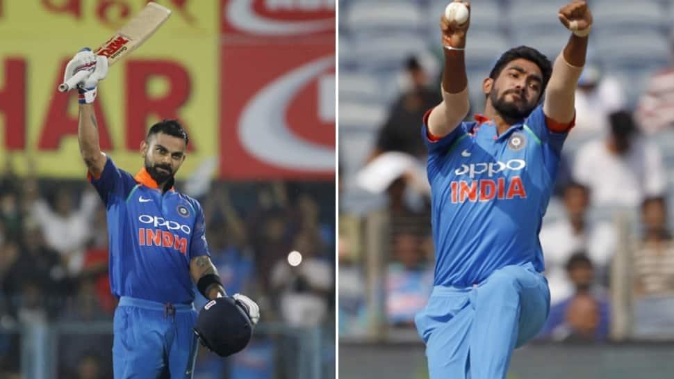 Virat Kohli, Jasprit Bumrah retain top positions in ICC ODI rankings