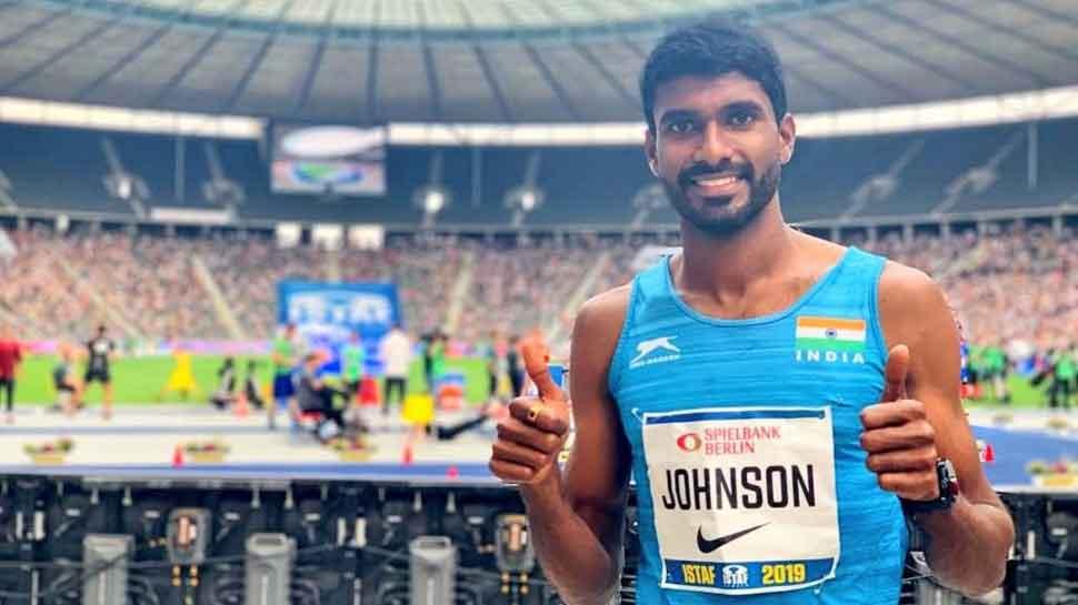 World Athletics Championships: Shot putter Tejinder Singh, 1500m runner Jinson Johnson crash out