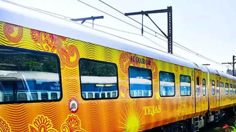 UP CM Yogi Adityanath flags off Delhi-Lucknow Tejas Express - country's first private semi-high speed train